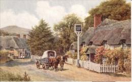 A. R. Quinton  -  Outside The Castle Inn At West Lulworth In Dorset   -   2823 - Quinton, AR