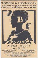 22847g CONGO BELGE - KATANGA - TOMBOLA - APOSTOLAT Des BENEDICTINS - A B C - Illustrateurs & Photographes