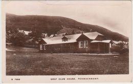 22914g PENMAENMAWR - GOLF CLUB HOUSE - Carte Photo - Pays De Galles