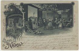 22933g NAPOLI - Tarantella - Danse Traditionelle - 1899 - Napoli (Naples)