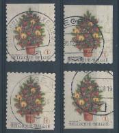 3734/4c  Oblitérations Choisies  Cote 5.40 - Belgium