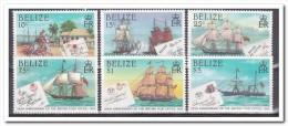 Belize 1985, Postfris MNH, Britisch Post, Ships - Belize (1973-...)