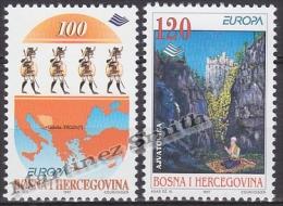 Bosnia Hercegovina - Bosnie 1997 Yvert 219-20, Europa Cept. Stories & Legends - MNH - Bosnia And Herzegovina
