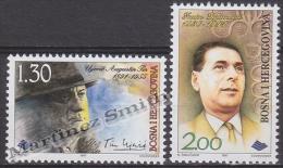 Bosnia Hercegovina - Bosnie 1997 Yvert 245-46, Celebrities, Augustin Tin & Imamovic Zaim - MNH - Bosnia And Herzegovina