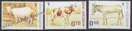 Bosnia Hercegovina - Bosnie 2007 Yvert 553-55, Definitive, Domestic Fauna, Farm Animals - MNH - Bosnien-Herzegowina