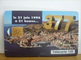 Phonecard Monaco 120 Units  Used - Monaco