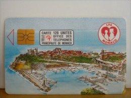 Phonecard Monaco 50 Untits Used - Monaco