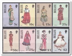 Belize 1986, Postfris MNH, Traditional Costumes - Belize (1973-...)
