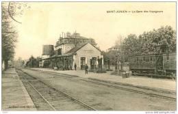 87-Saint Junien-La Gare des Voyageurs