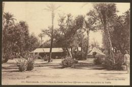 MARRAKECH Le Pavillon Du Cercle Des Sous Officiers Au Jardins Du Guilliz (Michel) Maroc Afrique - Marrakech