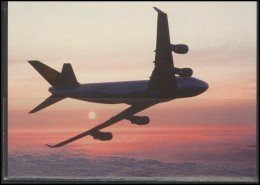 LUFTHANSA Airline Postcard Aviation Plane Transportation 001 - 1946-....: Moderne