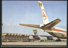 TAROM Airline Postcard Aviation Plane Transportation 001 - 1946-....: Moderne