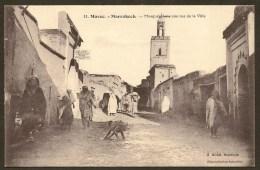 MARRAKECH Mosquée Dans Une Rue De La Ville (Michel) Maroc Afrique - Marrakech