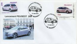 Lancement Peugeot 208 - France