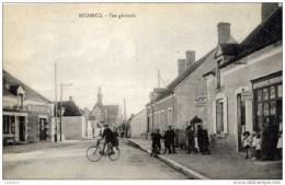 36 - MEOBECQ- Vue Générale Très Animée Commerces.Bouquet De St-ELOI,Maréchal Ferrant - France