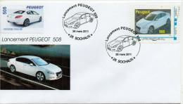 Lancement Peugeot  508 - Frankrijk