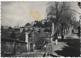 BERGAMO - F/G   B/N Lucida - Bivio Sudorno-Colle S.Vigilio (231009) - Bergamo