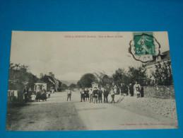 72) Pezè-le-robert - Rue Et Route De Sillé   Année 1910 - EDIT - Besnardeau - France