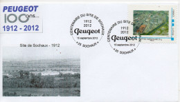 Centenaire Du Site De Peugeot Sochaux  1912 - 2012 - Frankrijk