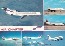 Scan10 : Flotte Utilisée Par Air Charter, Filiale D'Air France Et D'Air Inter - 1946-....: Moderne