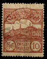 Timbres - Saint-Marin - 1903 -10c. - - Oblitérés