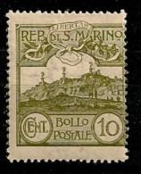 Timbres - Saint-Marin - 1903 -10c. - - Saint-Marin