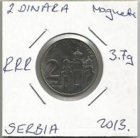 Gh4 Serbia 2 Dinara 2013.  3.7 G RRR - Serbie