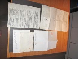 Certificat D'indigence Ixelles 1927 + Ajournement Audience 1927 + Blang Seing Timbré - De Rosalie DREYPONDT D' Ixelles - Documents Historiques