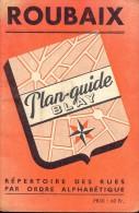 Brochure Plan  Guide Gids Blay - Ville De Roubaix - Non Classés