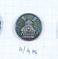 Society Of Milling Mechanic - Zranjanin (Serbia)Yugoslavia / WINDMILL MILL, MULIN, MOULEN, A VENT, WINDMUHLE - Verenigingen