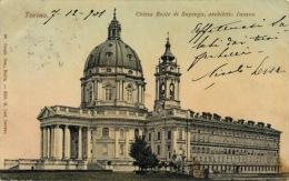 035-1901 Torino Turin Chiesa Reale Di Superga Viaggiata Travelled - Churches