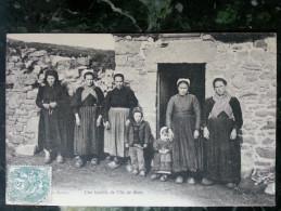 Une Famille De L´ile De Batz.superbe Et Rare - Ile-de-Batz