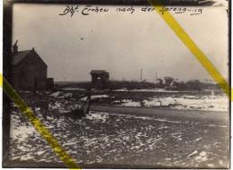 80 SOMME ERCHEU Canton De ROYE GARE / CHEMIN DE FER PHOTO ALLEMANDE  MILITARIA 1914/1918 - Other Municipalities