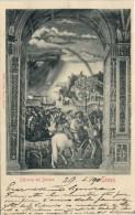 Cartolina d�epoca-anno 1901 da Siena a Napoli -Original vintage postcard- year 1901 from Siena to Napoli