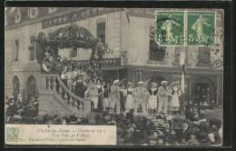 CPA Chalon-sur-Saone, Carnaval 1913, Une Fete Au Village, Fest Auf Dem Bauernhof - France
