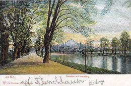 Allemagne - Jena - Paradies Mit Hausberg - Postmarked Jena 1904 - Jena