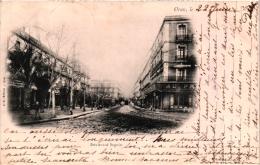 Cpa - Algérie - Oran - Boulevard Seguin - En 1902 (recto/verso) - Oran