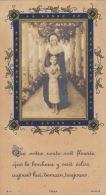 Souvenir Communion Nicoles De La Roche Eglise De Saint George Du Vievre Eure - Devotion Images