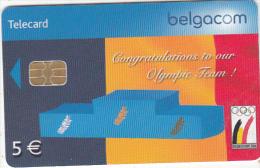 BELGIUM - Belgian Olympic Team, exp.date 31/08/07, used