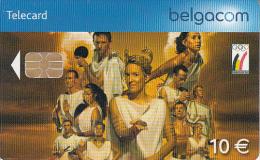 BELGIUM - Athletes, Belgian Olympic Team, tirage 25000, exp.date 01/05/07, used