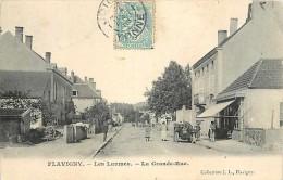Mai14 1428: Flavigny  -  Les Laumes  -  Grande Rue - France