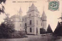 MANZAC(24)1907-chateau De Monciaux - Autres Communes