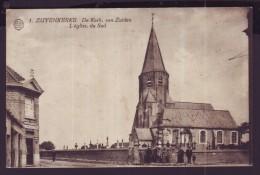 Carte Postale - ZUIENKERKE - ZUYENKERKE - De Kerk Van Zuiden - Eglise Du Sud - CPA   // - Zuienkerke