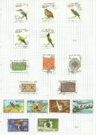 Laos N°865 à 869, 871 à 881  Côte 5.75 Euros - Laos