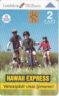 LATVIA - Hawaii Express, Exp.date 08/05, Used - Latvia