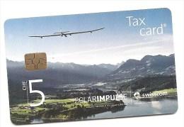SWITZERLAND/SUISSE - CHF 5 - Solar Impulse