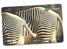 SWITZERLAND/SUISSE - Global One - Zebra - tir. 20 000
