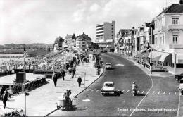 VLISSINGEN Zeebad Boulevard Evertsen - Alte Autos, Eisverkäufer Mit Eiswagen, Fotokarte - Vlissingen