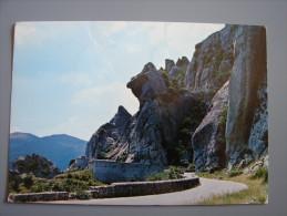 pz1143)  Castelmezzano - Dolomiti Lucane - Becco della Civetta