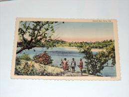 Carte Postale Ancienne : FIDJI , FIJI : Inland Sea , CUVA - Fidji